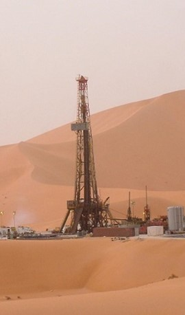 Drilling Rig's Middle East